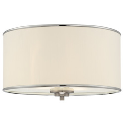 Savoy House Satin Nickel Grove Flush Mount