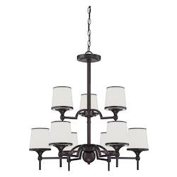 Savoy House Hagen 9 Light 2 Tier Chandelier