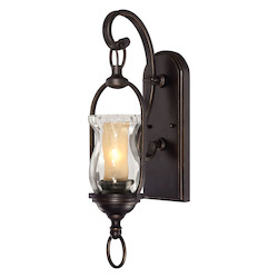Savoy House One Light English Bronze Wall Sconce