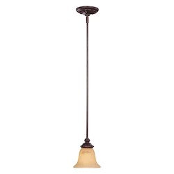 Savoy House One Light Antique Copper Down Mini Pendant