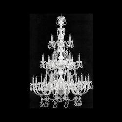 Crystorama Twenty One Light Polished Chrome Up Chandelier
