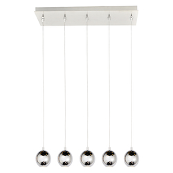 ET2 Polaris 5-Light Led Pendant