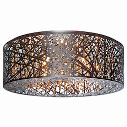 ET2 Inca 9-Light Flush Mount