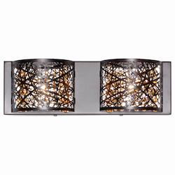 ET2 Bronze Inca 2-Light Wall Mount