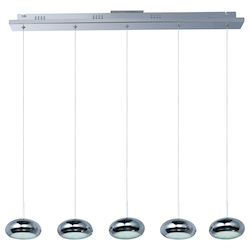 ET2 Dial 5-Light Led Linear Pendant