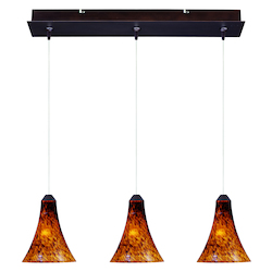 ET2 Minx 3-Light Rapidjack Pendant And Canopy