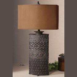Uttermost Olive Bronze Shakia Table Lamp