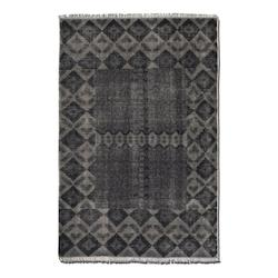 Uttermost Aged Charcoal 6 X 9 Aegean Hand Knotted Wool Rug