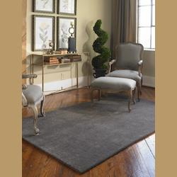 Uttermost Slate 5 X 8 Cambridge Hand Tufted Wool Rug