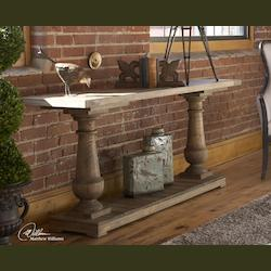 Uttermost Natural Wood Stratford Console