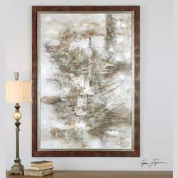 Uttermost Artwork Reproduction Dark Expressions Framed Abstract Art