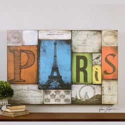 Uttermost Artwork Reproduction All Things Paris Wall Art