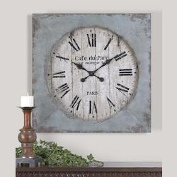 Uttermost Distressed Aged Clock