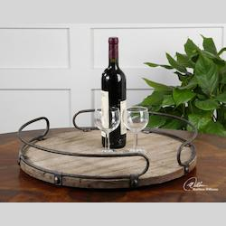 Uttermost Natural Wood Acela Tray