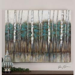 Uttermost Edge Of The Forest Wall Art