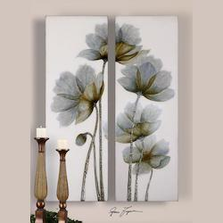 Uttermost Artwork Reproduction Floral Glow I Ii  Set Of 2 Wall Art