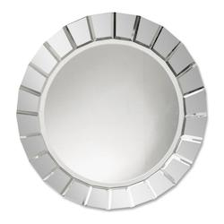 Uttermost B Beveled Glass Fortune Round Frameless Mirror