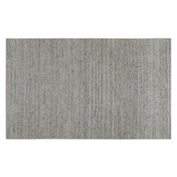 Uttermost Silver / White / Black 5 X 8 Area Rug