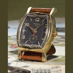 Uttermost Wristwatch Alarm Square Pierce