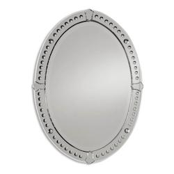 Uttermost B Mirrored Graziano Frameless Beveled Mirror