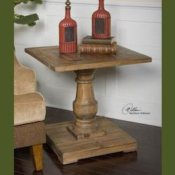 Uttermost Natural Wood Stratford End Table