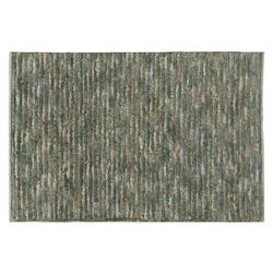 Uttermost Aqua Blue / Brown 6 X 9 Jessore Hand Knotted Jute Rug