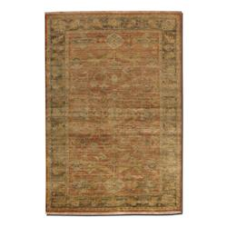 Uttermost Washed Rust Red 10 X 14 Eleonora Hand Knotted New Zealand Wool Rug