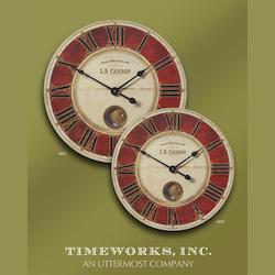 Uttermost S.B. Chieron 23-Inch Wall Clock