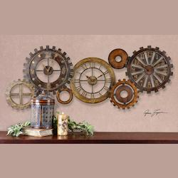 Uttermost Spare Parts Clock