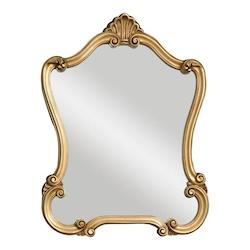 Uttermost P Distressed Gold Walton Hall Mirror