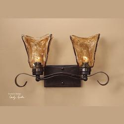 Uttermost Oil Rubbed Bronze Vanity Fixture From The Vetraio Collection