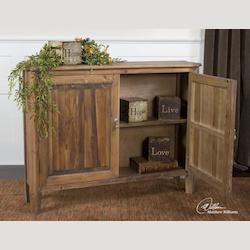 Uttermost Natural Wood Altair Console Cabinet