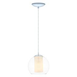 Eglo Chrome Bolsano 1 Light Mini Pendant