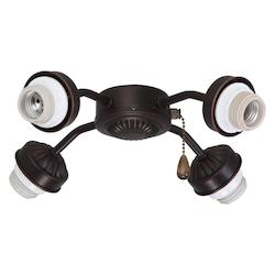 Emerson Fans Open Box Four Light Venetian Bronze Fan Light Kit
