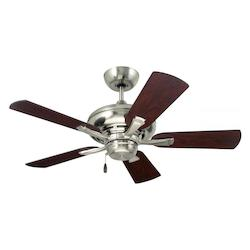 Emerson Fans Brushed Steel Monterey II 42in. 5 Blade Ceiling Fan - Blades Included