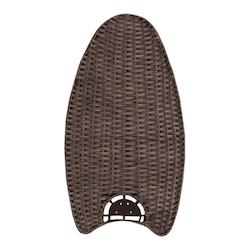 Emerson Fans Dark Walnut Wicker Fan Blades for Maui Bay Fans