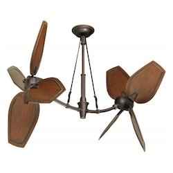 Emerson Fans Oil Rubbed Bronze W/ Highlights Fan Motor Without Blades