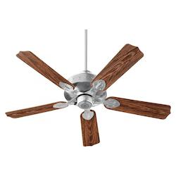 Quorum Galvanized Outdoor Fan