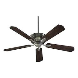 Quorum Antique Silver Ceiling Fan