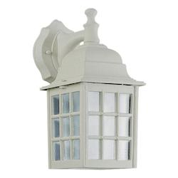 Quorum Open Box One Light White Wall Lantern