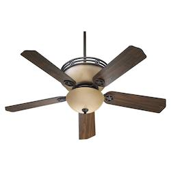 Quorum Toasted Sienna Ceiling Fan