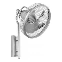 Quorum Satin Nickel Wall Fan