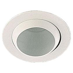 Quorum One Light White Directional Recessed Light