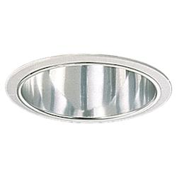 Quorum One Light Chrome Recessed Lighting Trim