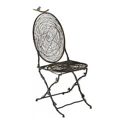 Cyan Designs Muted Rust 39.5in. Bird Chair