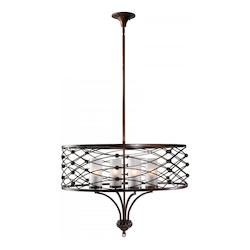 Cyan Designs Calcutta Dusk 22.75in. Clarisse Pendant from the Lighting Collection