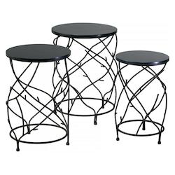 Cyan Designs Canyon Bronze 25in. Branch Drum Tables