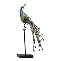 Cyan Designs Multi Colored 24.5in. Peacock On Stand #2