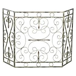 Cyan Designs 29.25in. Crawford Fire Screen