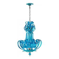 Cyan Designs Aqua Florence 4 Light Full Size Pendant